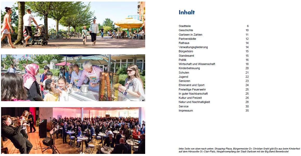 Druckfrisch Eingetroffen Imagebroschüre Informiert Auf 35 Seiten
